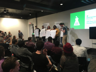 Startup Weekend Stage